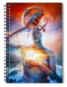 Invisible Spiral Notebook