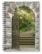 Invitation To The Garden Spiral Notebook