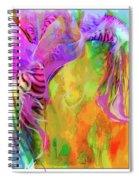 Iris Psychedelic  Spiral Notebook