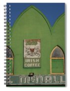 Irish Coffee Spiral Notebook