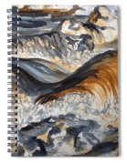 Iron Rich Water And Energy Spiral Notebook