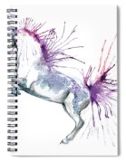 Is  It A Horse Or A Peacock Spiral Notebook
