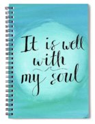It Is Well Spiral Notebook