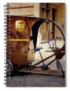 Italian Delivery Spiral Notebook