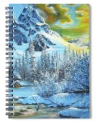 It's Out In The Winter Spiral Notebook