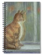 It's Raining Outside Spiral Notebook