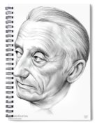 Jacques-yves Cousteau Spiral Notebook