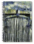 Jaguar Car Van Gogh Spiral Notebook