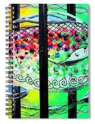 Jail Fish 135826 Spiral Notebook