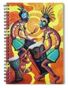 Jammin Djembes Spiral Notebook