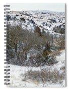 January Badlands Spiral Notebook