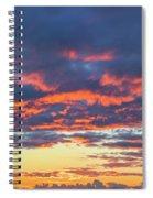 January Sunset - Vertirama 3 Spiral Notebook