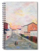 Japanese Colorful And Spiritual Nuance Of Maurice Utrillo Spiral Notebook