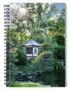 Japanese Garden #4 - Island Pagoda Vertical Spiral Notebook