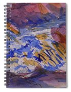 Jay Cooke Favorite Spot In Purple And Tan Spiral Notebook