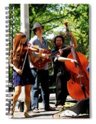 Jazz Musicians Spiral Notebook