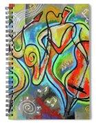 Jazz-swing Spiral Notebook