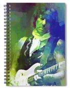 Jeff Beck, Love Is Green Spiral Notebook