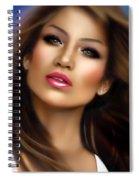 Jennifer Lopez Spiral Notebook