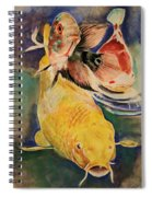 Jewels In Waters Spiral Notebook