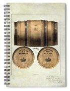J.h. Cutter Old Bourbon Spiral Notebook