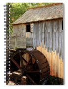 John Cable Mill In Cades Cove Historic Area In Smoky Mountains Spiral Notebook
