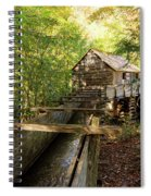John Cable Mill In Cades Cove Historic Area In The Smoky Mountains Spiral Notebook