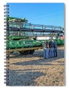John Deere Combine Spiral Notebook