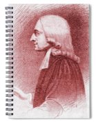 John Wesley, Anglican Minister And Christian Theologian Spiral Notebook