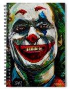Joker Joaquin Phoenix Spiral Notebook