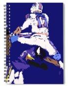 Josh Allen Hurdle Spiral Notebook