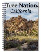 Joshua Tree National Park Box Canyon, California Spiral Notebook