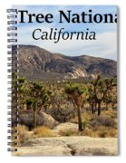 Joshua Tree National Park Valley, California Spiral Notebook