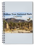 Joshua Tree National Park Valley, California Spiral Notebook