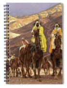 Journey Of The Magi Spiral Notebook