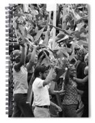 Joy Is Evident Spiral Notebook