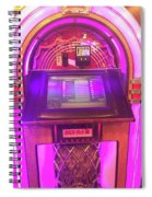 Jukebox Hero Spiral Notebook