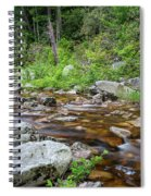 June Morning At The Peterskill Spiral Notebook