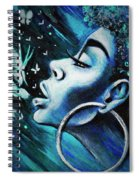 Just Breathe Spiral Notebook