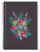 Just Flora II Spiral Notebook