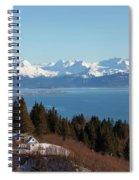 Kachemak Bay And Homer Alaska Spiral Notebook
