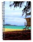 Kailua Beach Spiral Notebook