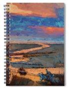 Kalaloch Creek 54 Spiral Notebook