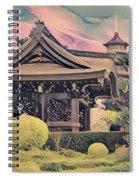 Kanagawa - The Japanese Garden Spiral Notebook
