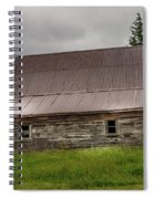 Kansas Barn Spiral Notebook