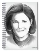 Kate Mulgrew Spiral Notebook