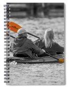 Kayaking Along The Magothy Spiral Notebook