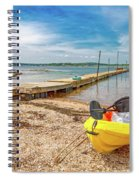 Kayaking To Goat Island Maine Spiral Notebook