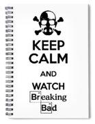 Keep Calm Breaking Bad Spiral Notebook