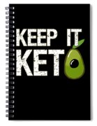Keep It Keto Spiral Notebook